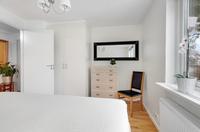Sovrummet mot hall