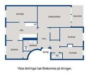 Planlösning Stamgatan 13, 2 tr