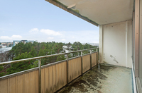 Stor balkong med möjligheter
