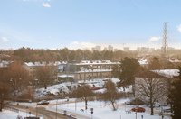 Utsikt från balkongen annan vinkel